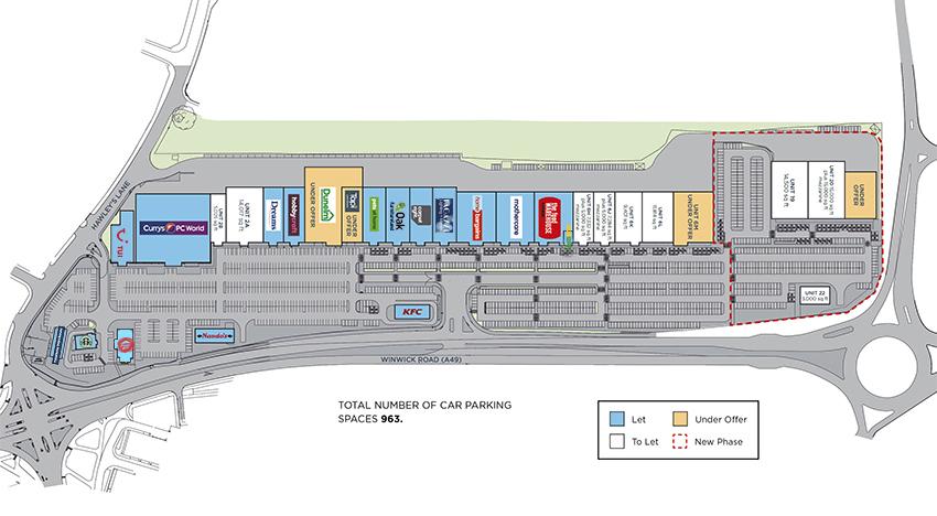 JunctionNINE Retail Park Scheme