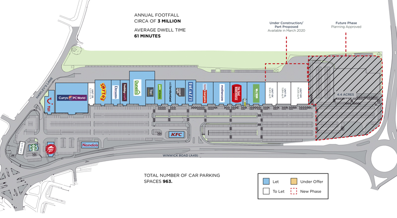 JunctionNINE Retail Park Scheme